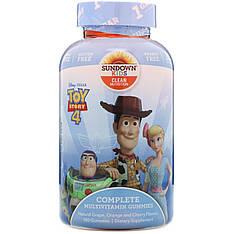Дитячі жувальні мультивітаміни, Історія іграшок 4, 180 шт, Sundown Naturals Kids