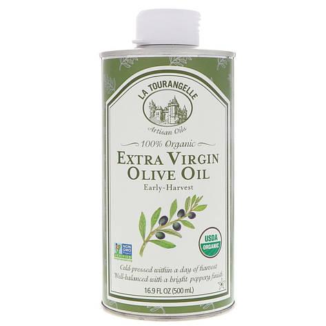Органическое оливковое масло холодного отжима, 500 мл La Tourangelle, фото 2