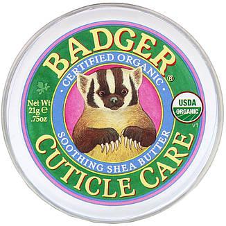 Догляд за кутикулою, Заспокійливу масло ши (21 г) Badger Company, фото 2