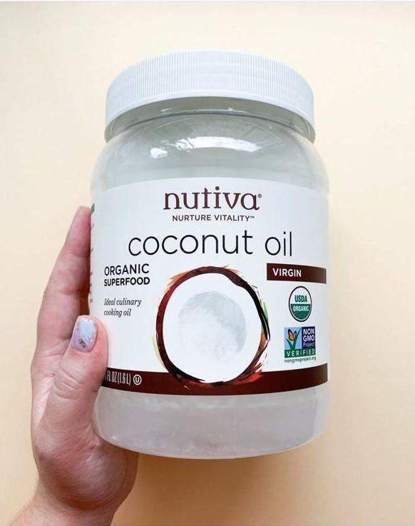 Кокосовое масло первого отжима, 1,6 л Nutiva