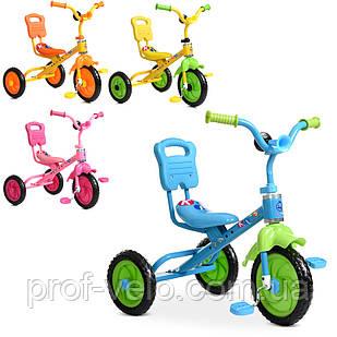 Детский велосипед трехколесный М 1190 в ассортименте