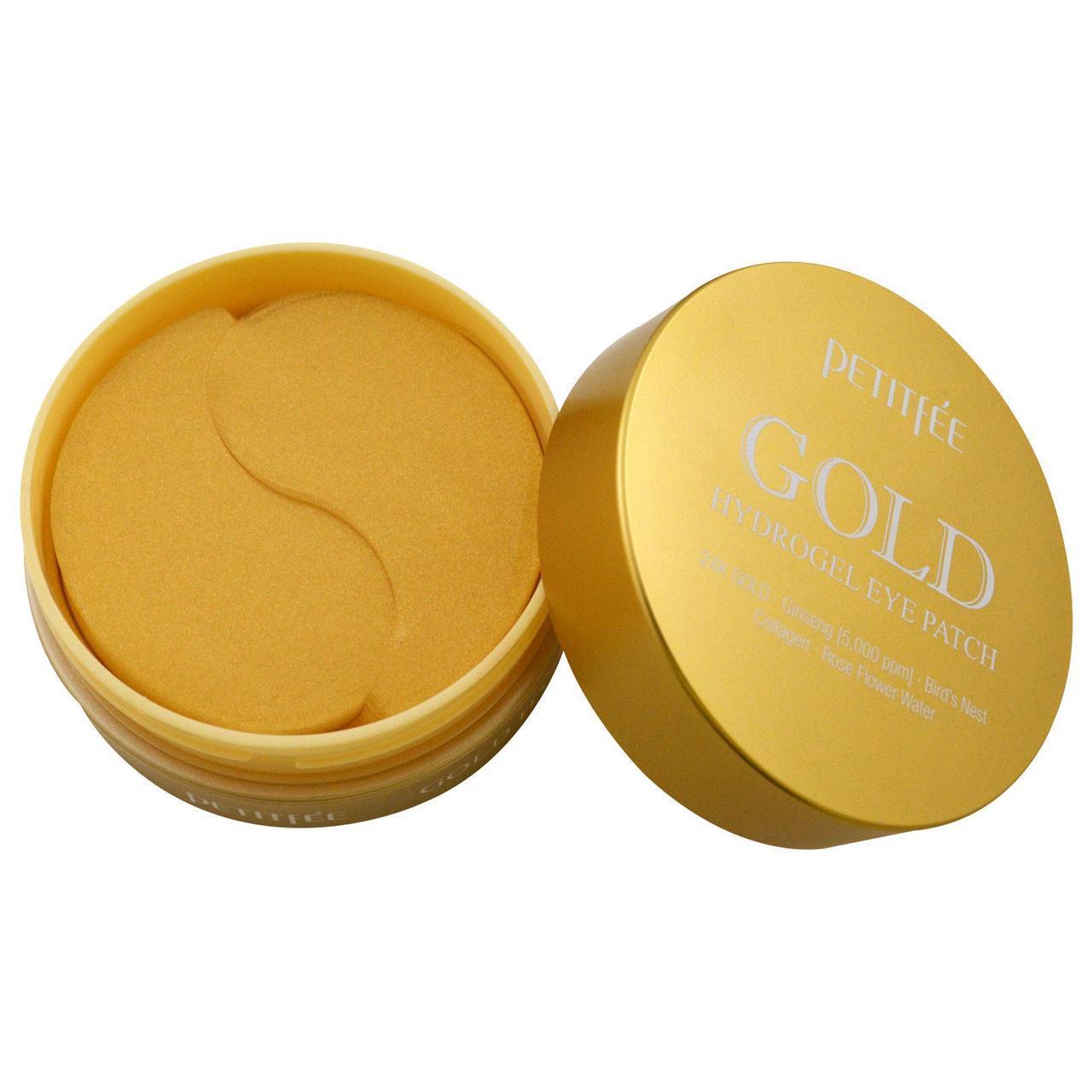 Патчи под глаза с гидрогелем Gold с золотом, 60 шт Petitfee