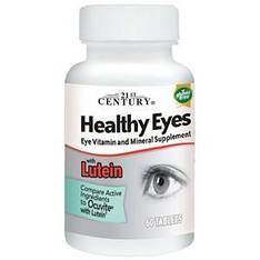 Витамины для здоровья глаз с лютеином, 60 таблеток 21st Century Healthy Eyes