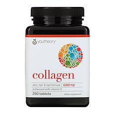 Youtheory, Коллаген, 6000 мг, 290 таблеток