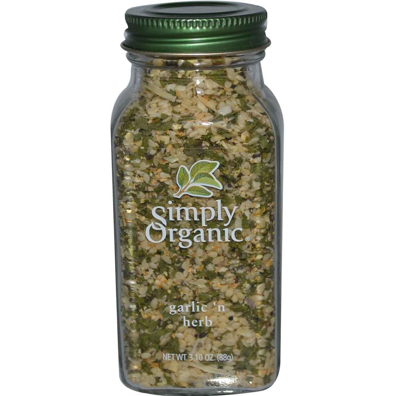 Чеснок и травы (88 г) Simply Organic