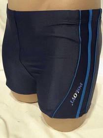 Шорты для плавания мужские синие с белыми полосками 48 50 54 укр