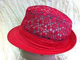 Шляпа кружевная челентанка для девочек, фото 4