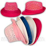 Шляпа кружевная челентанка для девочек, фото 5