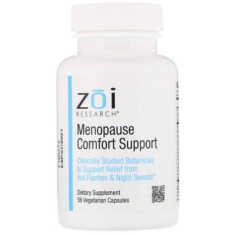 Підтримка в період менопаузи, 56 вегетаріанських капсул ZOI Research, фото 2