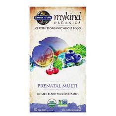 Пренатальные витамины для беременных из цельных продуктов, 180 веганских таблеток, Garden of Life