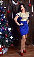 Оригинальное новогоднее платье
