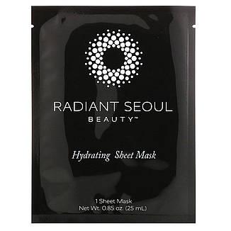 Увлажняющая тканевая маска, 5 шт. по 25 мл, Radiant Seoul, фото 2