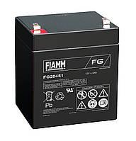 Акумулятор FIAMM FG 20451 - 12V 4.5Ah