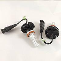 LED Лампы X3 Philips (H11 6500K 50W ip 67) с активным охлаждением