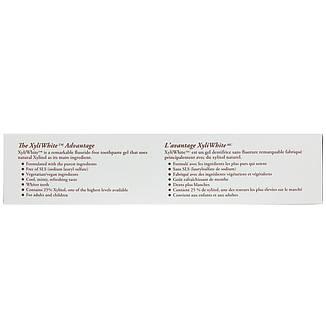 Зубна паста - гель, кокосове масло зі смаком м'яти, 181 р Now Foods, Solutions, XyliWhite, фото 2
