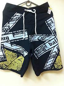 Черные мужские шорты универсальные (размер М )