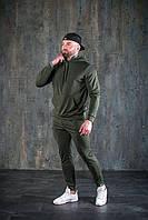 Мужской спортивный костюм хаки весна/лето