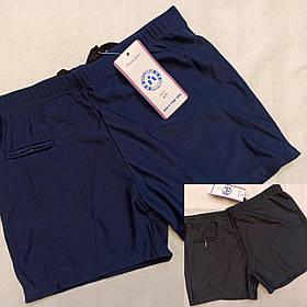 Мужские шорты плавки для пляжа 46-48  52-54 цвет темно синий и чёрный