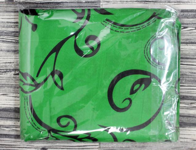 зелене двоспальне постільна білизна
