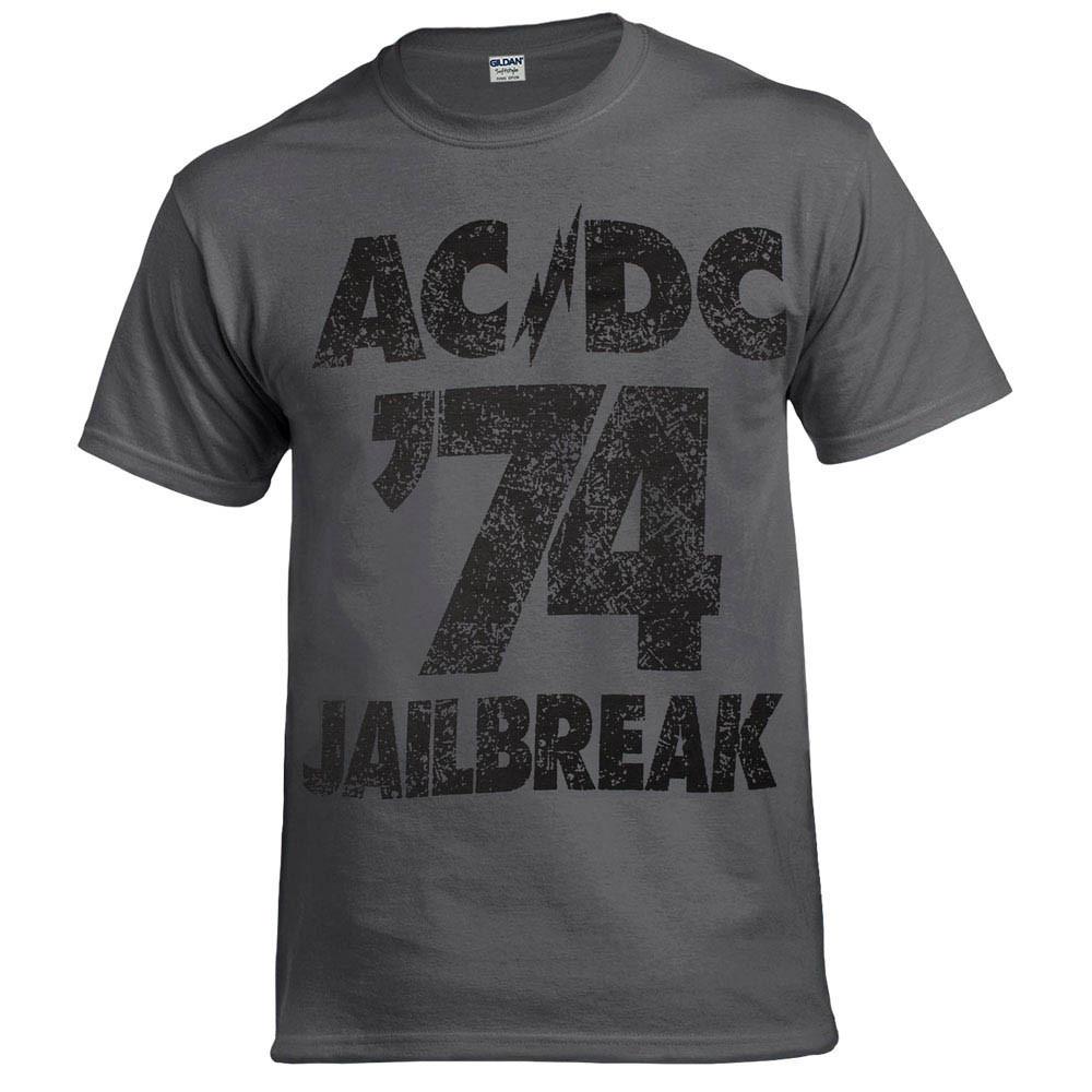 Футболка AC/DC 74 Jailbreak (графит)
