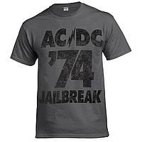 Футболка AC/DC 74 Jailbreak (графіт)