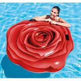 Пляжный надувной матрас Intex 58783 (Роза)(137 х 132 см), фото 3