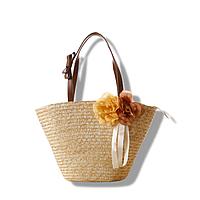 Женская соломенная сумка, плетеная сумка шопер, тренд 2021 AL-3730-16