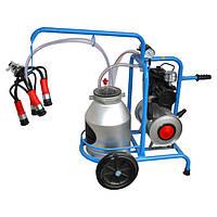 Доїльний апарат для корів DO1-1T (бак 30 л.)