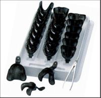 Набор ложек пластиковых для беззубых челюстей (24 шт.) 600/24Kit Medesy
