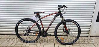 "Велосипед 29"" Crosser Inspiron 17"" чорно-червоний"