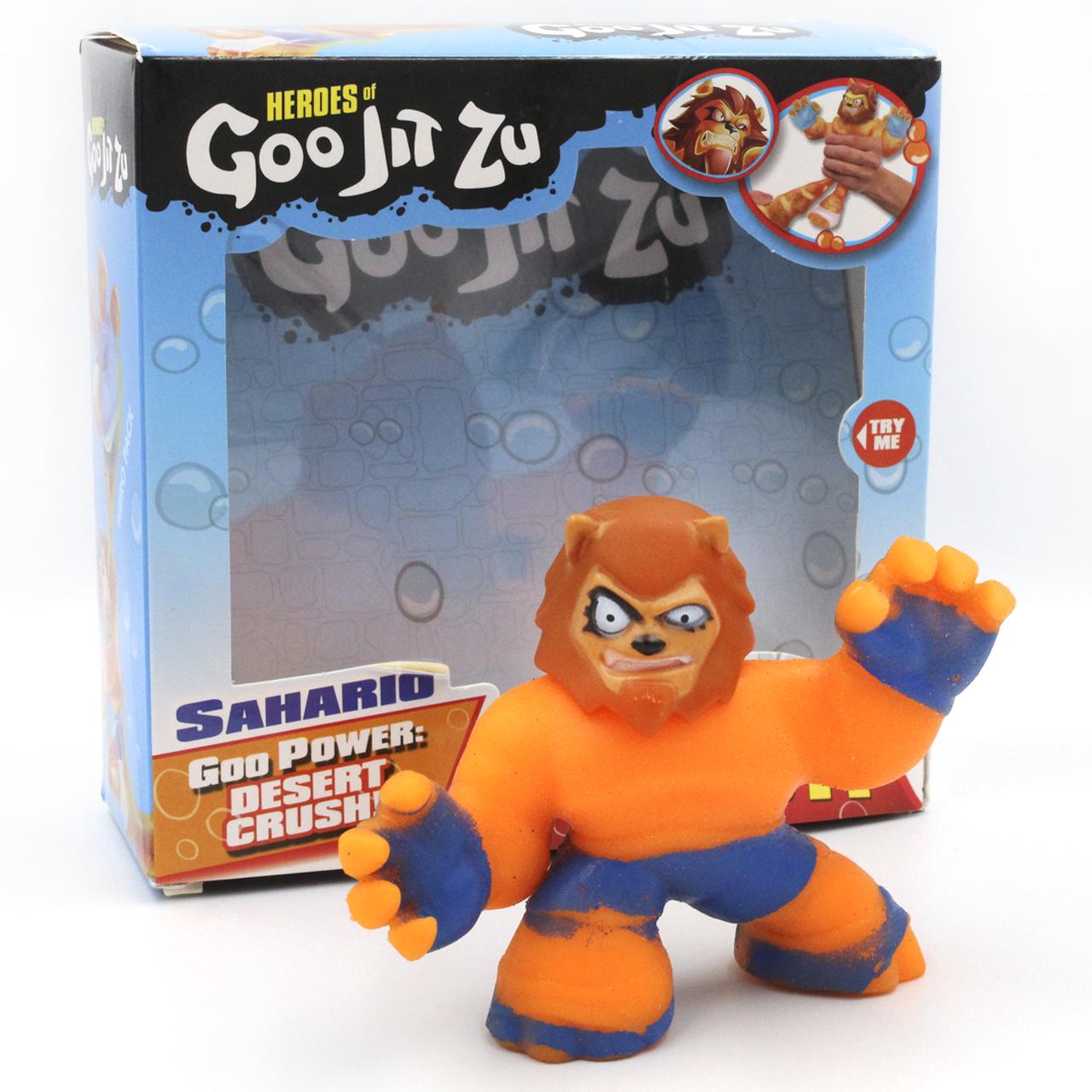 Гуджитсу герои игрушки Стретч-антистресс Goo Jit Zu игрушка тянучка супергерой Сахарио
