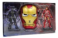Набор героев Железный человек и Человек Пантера с маской Марвел Мстители Marvel Avengers Iron Man, фото 2