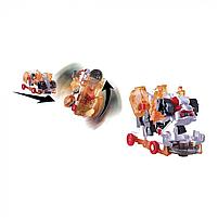 Дикий скричер машинка трансформер Screechers Wild L3 Thunder Штормхорн 3 Сезон, фото 3