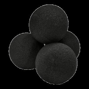 """Реквизит для фокусов   1,5"""" Super Soft Sponge Ball (черные) (1 шт), фото 2"""