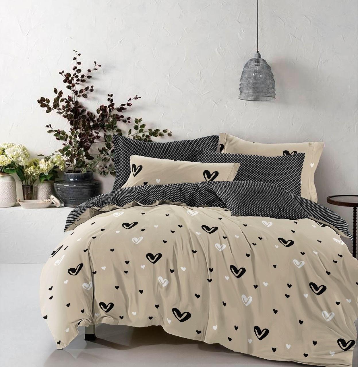 Комплект постельного белья Бязь Голд полуторка, двойка, эвро, семья Виктория