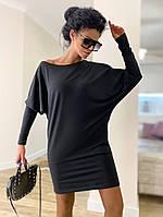 Жіноче стильне плаття-туніка з довгим рукавом