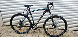 """Велосипед 29"""" Crosser Inspiron 17"""" чорно-синій"""