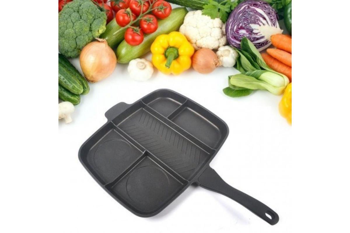 Сковорода гриль Magic Pan 32x28 см сковорода універсальна