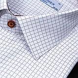 Сорочка чоловіча, прямого покрою з довгим рукавом PASHAMEN(FITMENS) 1903-03 90% бавовна 10% поліестер L(Р), фото 2