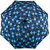 Механический зонт-трость с большим куполом EuroSCHIRM teleScope 1016-CWS1/SU18261 синий