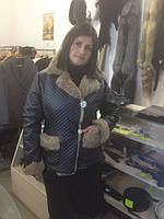 Куртка с подкладкой из натурального кролика