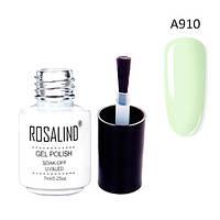 Гель-лак для ногтей маникюра 7мл Rosalind, шеллак, А910 чайное дерево