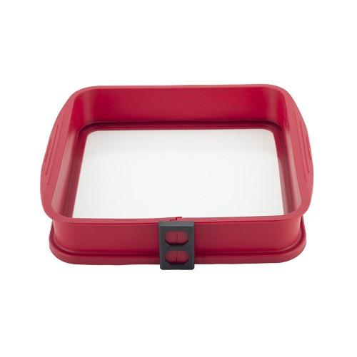 Форма для выпечки Kamille разъемная с жаропрочным стеклянным дном (KM 7759)
