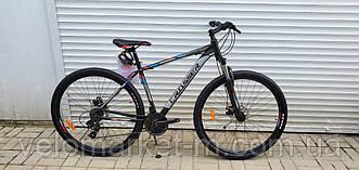"""Велосипед 29"""" Crosser Thomas 19"""" чорно-червоний"""