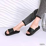 Женские шлепки Dior Soben белые бежевые черные, фото 5