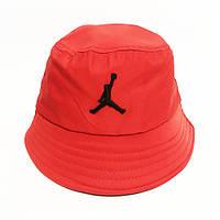 Панама червона в спортивному стилі унісекс, розмір 56-59 (onesize)