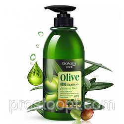 Шампунь для волос BIOAQUA Olive Shampoo с оливковым маслом 400 мл