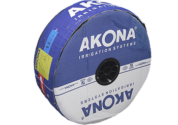 Капельная лента Akona 6 mil/20 см водовылив 1.6 л/час в бухте 2500 м