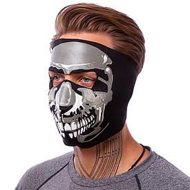Маска лицевая ветрозащитная Chrome Skull MS-4344-1