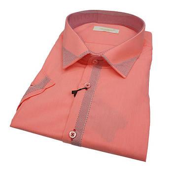 Яскрава чоловіча сорочка прямого крою Negredo 630 BKC 01 у великому розмірі